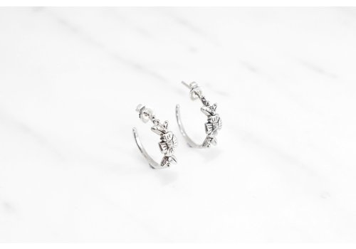 Datter Industries Datter Industries - Flora Hoops - Silver
