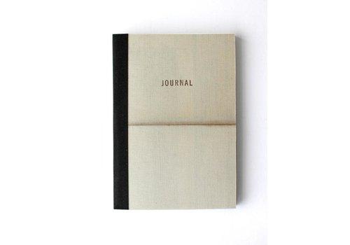 Sukie Sukie - Vintage Linen Map Travel Journal - Gold Letterpress