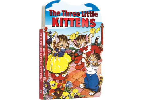Laughing Elephant Laughing Elephant - The Three Little Kittens - Board Book
