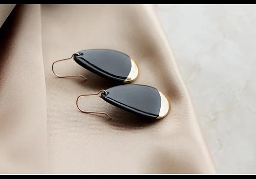Rozenthal Rozenthál - Black Drop - Earrings