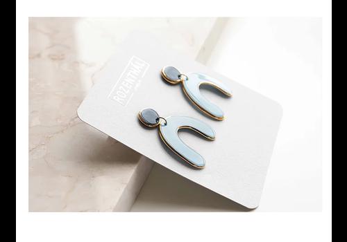 Rozenthal Rozenthál - Blue Statemant - Earrings