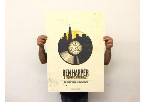 Error Design Error - Ben Harper - Poster