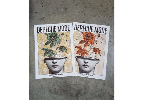 Error Design Error - Depeche Mode MAD - Poster