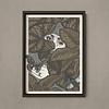 Error Design Error - Dream Among The Waters - Art Print 30x40