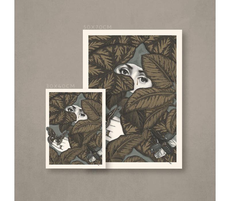 Error - Dream Among The Waters - Art Print 30x40