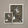 Error Design Error - Dream Among The Waters - Art Print 50x70