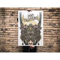 Error - Foo Fighters - Poster