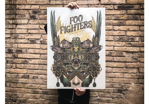 Error Design Error - Foo Fighters - Poster