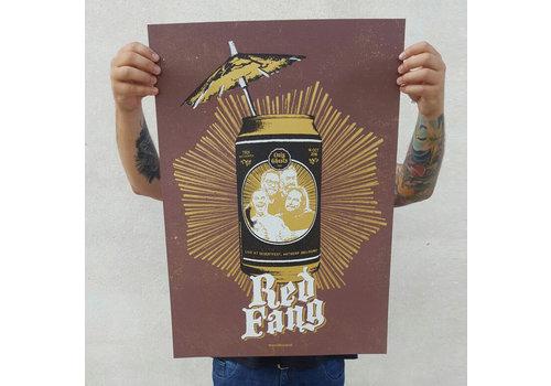 Error Design Error - Red Fang Desert Fest - Poster