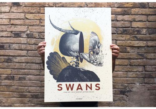 Error Design Error - Swans DUNK - Poster