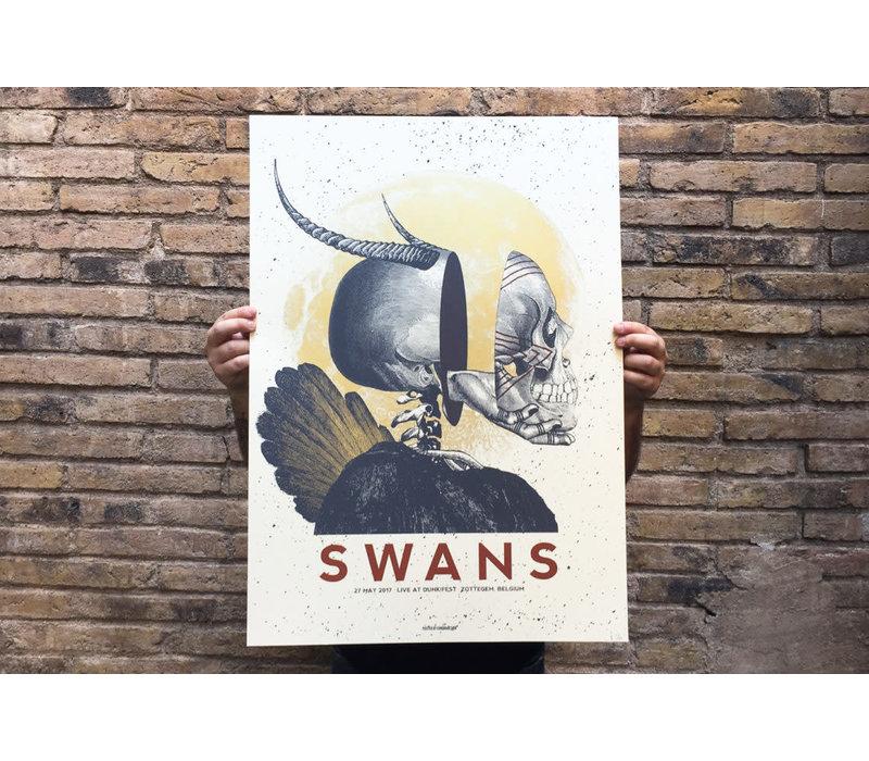 Error - Swans DUNK - Poster