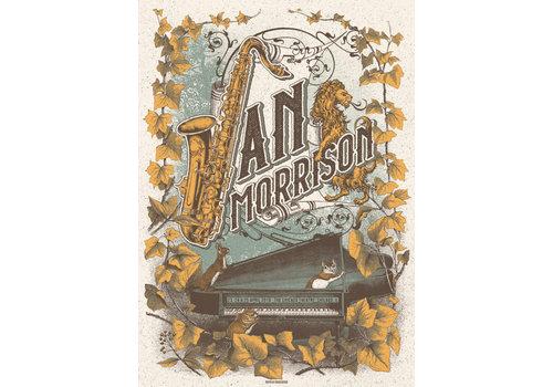 Error Design Error Design - Van Morrison - Gig Poster