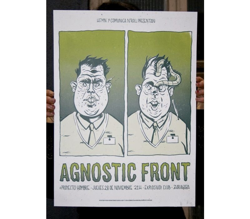 Münster - Agnostic Front - Screen Print