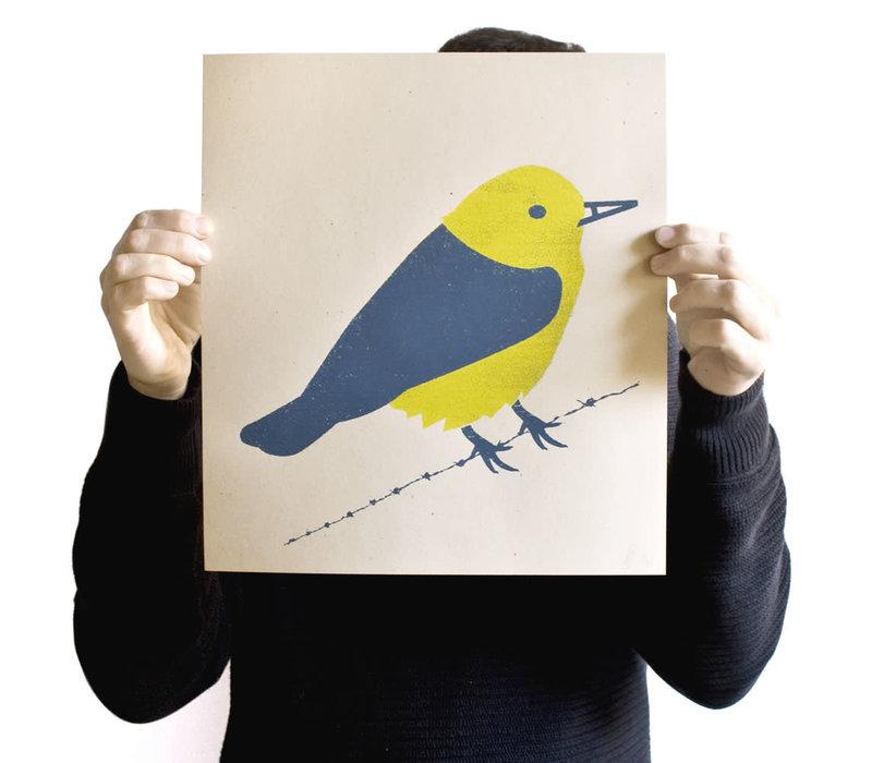 Munster - Bird 'A' Screen Print
