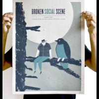 Münster - Broken Social Scene - Screen Print