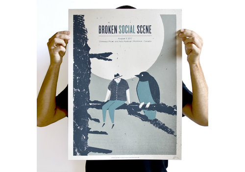 Münster Münster - Broken Social Scene - Screen Print