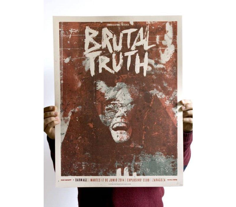 Münster - Brutal Truth - Screen Print