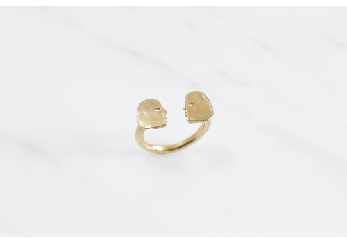 Datter Industries Datter Industries - Conversation Ring - Brass