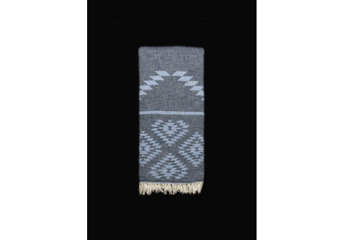 Cotorra Cotorra - Turkish Towel - Apollo Dark & Light Blue