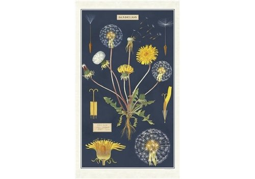Cavallini Papers & Co Cavallini - Dandelion - Tea Towel