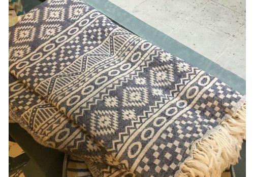 Cotorro Cotorra - Turkish Towel - Amuu - Dark Blue