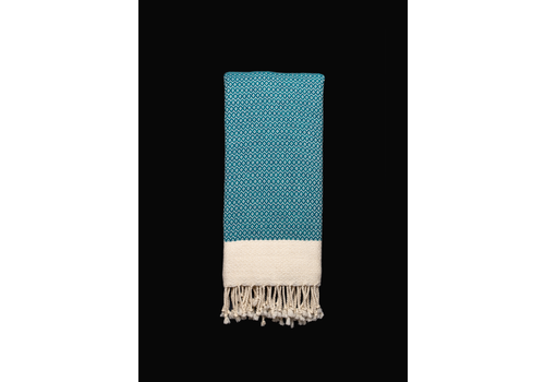 Cotorra Cotorra - Turkish Towel - Classic Aqua Blue
