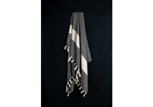 Cotorra Cotorra - Turkish Towel - Classic Black