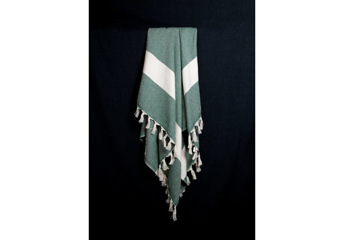 Cotorra Cotorra - Turkish Towel - Classic Green