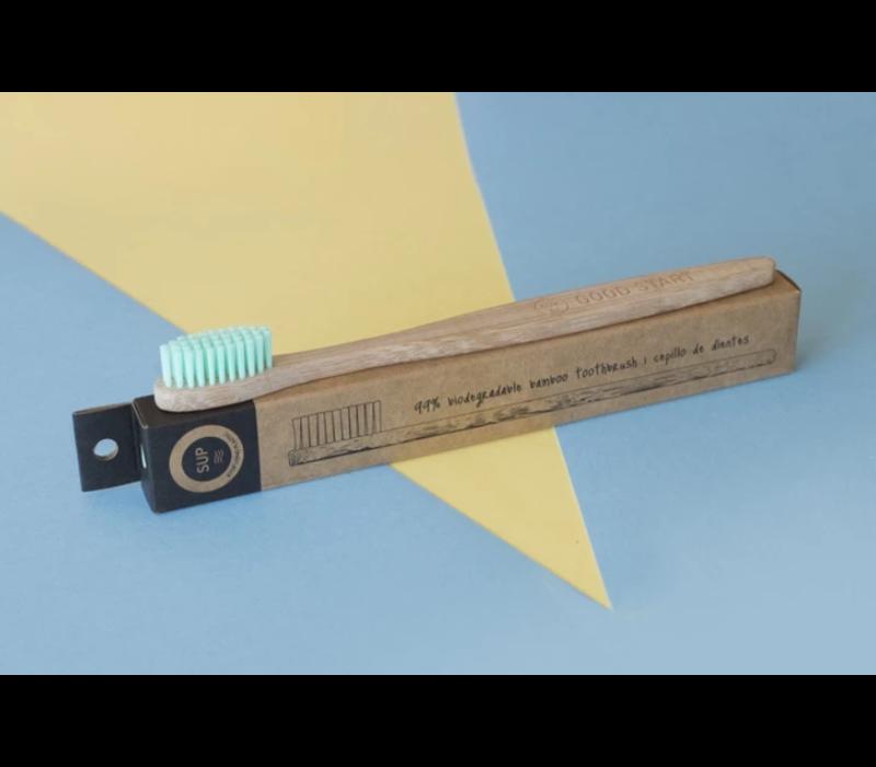 SUP - Bamboo Toothbrush - Medium Turquoise