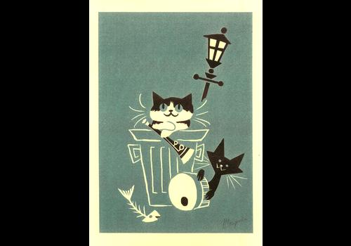 El Marquès El Marquès - Alley Cats - A4 Risograph
