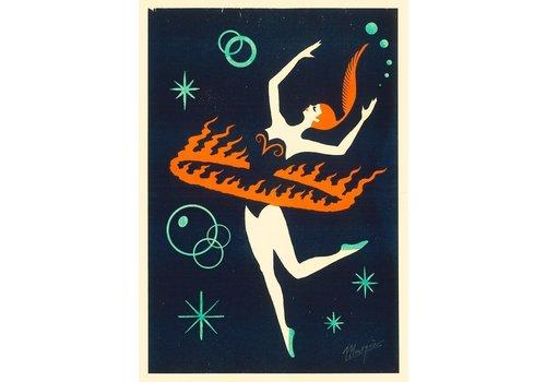 El Marquès El Marquès - Fire Dance - A4 Risograph