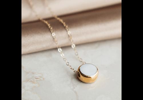 Rozenthal Rozenthál - White Porcelain - Necklace