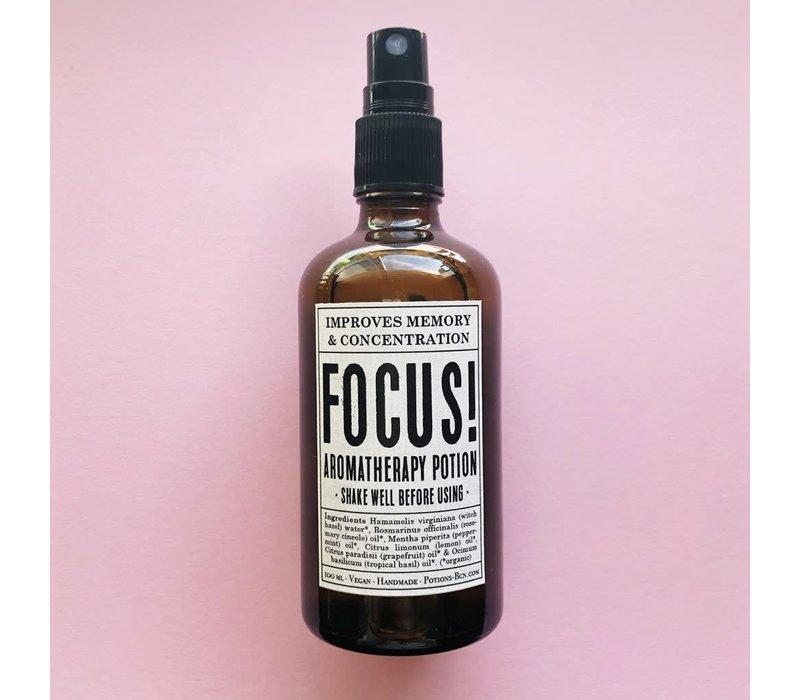 Potions - FOCUS! Memoria & Concentración - 100 ml