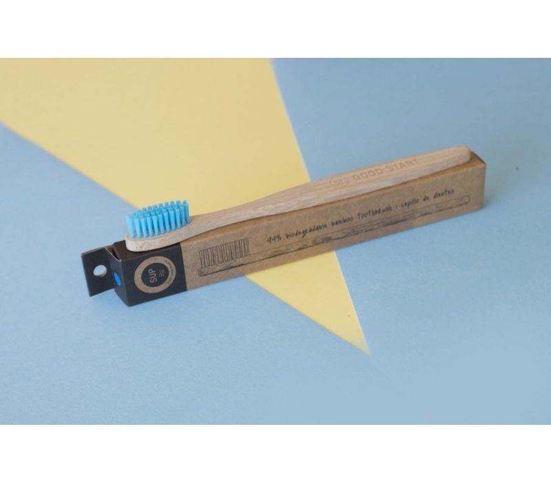SUP - Bamboo Toothbrush - Soft Blue