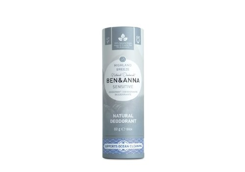 Ben&Anna Ben & Anna - Deodorant - Sensitive Highland Breeze - 60g