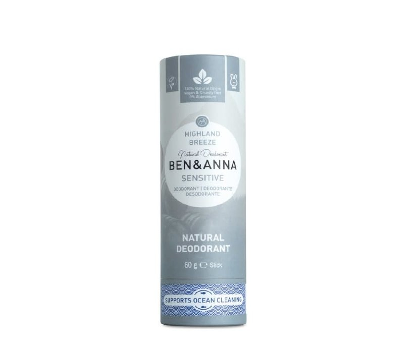 Ben & Anna - Deodorant - Sensitive Highland Breeze - 60g