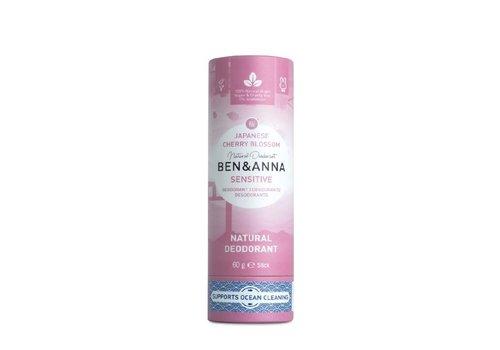 Ben&Anna Ben & Anna - Sensitive Deodorant - Japanesse Cherry Blossom - 60g