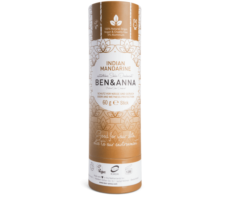 Ben & Anna - Deodorant - Indian Mandarine - 60g