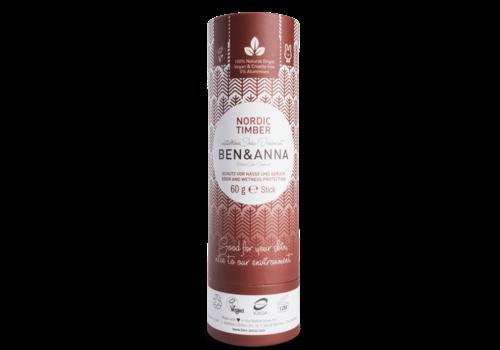 Ben&Anna Ben & Anna - Deodorant - Nordic Timber - 60g