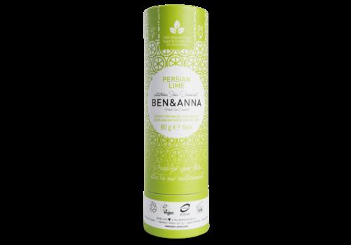 Ben&Anna Ben & Anna - Deodorant - Persian Lime - 60g