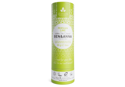 Ben & Anna - Deodorant - Persian Lime - 60g