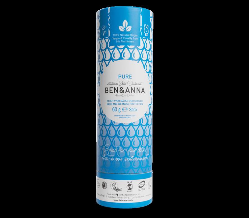 Ben & Anna - Desodorante - Pure - 60g