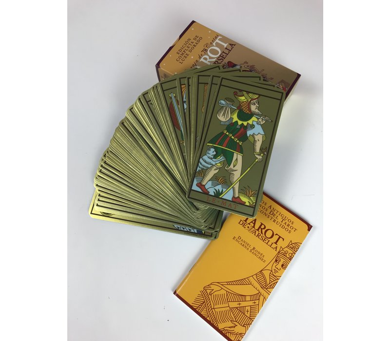 Tarot de Marsella Dorado - Deck
