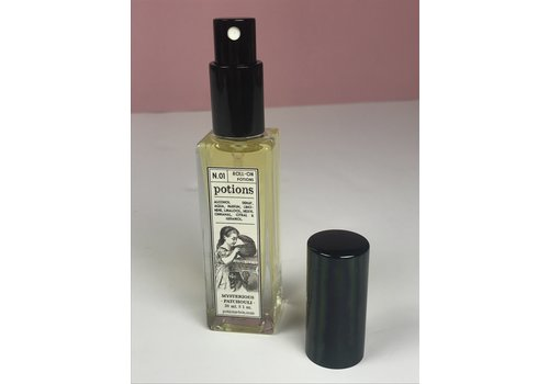 Potions Potions - N.01 Mysterious Patchouli SPRAY