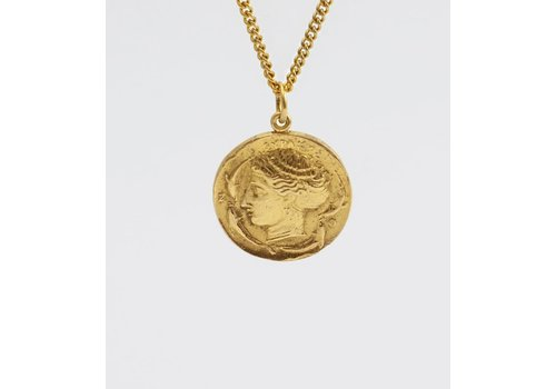 SAR SAR - Decadrachma - Gold Necklace