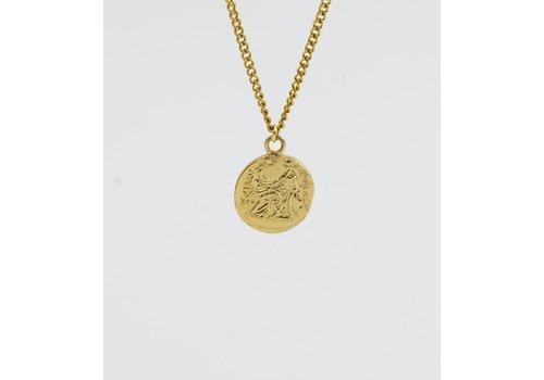 SAR SAR - Drachma  - Gold Necklace