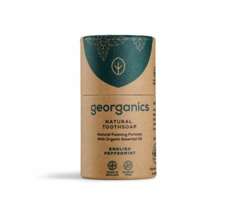 Georganics - Natural Toothsoap - English Peppermint