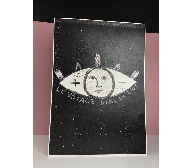 Marina Seijas - La Lune - A3 Print
