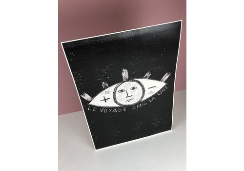 Marina Seijas Marina Seijas - La Lune - A3 Print