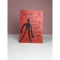 Marina Seijas - Hello! - A5 Print
